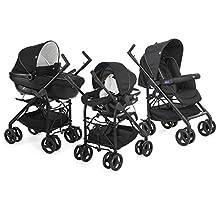 Chicco Trio-System Sprint Black bebek arabası