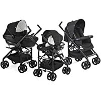 Chicco - 06079366430000 - Trio Sprint - Poussette - Sandshell - Collection 2017