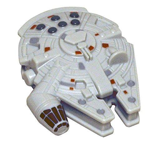 Joy Toy 217070 - Star Wars Millennium Falcon als Flaschenöffner, mit Magnet, zur Anbringung am Kühlschrank, geblistert, 10 x 4 x 22 cm
