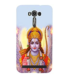 99sublimation Lord Rama Statue Abstract Designer Back Case Cover for Asus Zenfone 2 Laser ZE500KL (5 Inches)