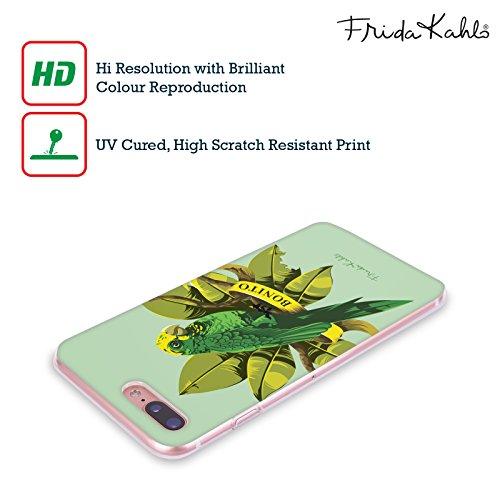 Offizielle Frida Kahlo Monkey Tropisch Soft Gel Hülle für Apple iPhone 5 / 5s / SE Vögel