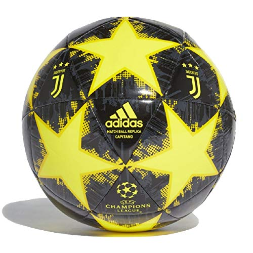 adidas Pallone Finale18 Giallo 18/19 Juventus SIZE 5 Giallo