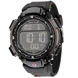 Sector Jungen Digital Quarz Smart Watch Armbanduhr mit Kautschuk Armband R3251172125