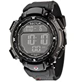 Sector No Limits Jungen Digital Analog Quartz Smart Watch Armbanduhr mit Kautschuk Armband R3251172125