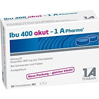 Ibu 400 akut - 1A Pharma® Filmtabletten