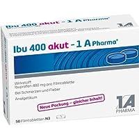 Preisvergleich für Ibu 400 akut - 1A Pharma® Filmtabletten