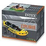 Intex Schlauchboot Aufblasbares Kajak Boot Explorer K2 Phthalates Free Inkl. 84 Paddel und Luftpumpe, 312 X 91 X 51 cm - 7