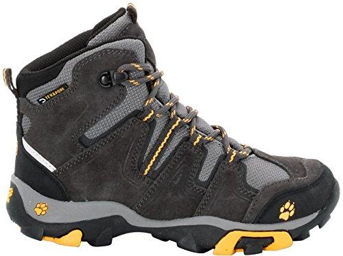 Jack Wolfskin Mtn Attack Mid Texapore, Chaussures de randonnée garçon