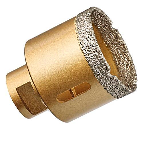 GraniFix Ø 60 mm Diamantbohrer M14 Bohrkrone Fliesenbohrer Trockenbohrer Granit