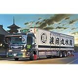 Aoshima Bunka Kyozai 1/32 gran grupo Dekotora No.59 Marvi Wataritsuki agua ronda de repente largo chasis de un camioen frigorifico