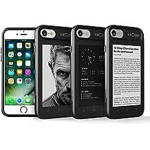 Oaxis Inkcase i7, Étui E-Ink pour Apple iPhone 7, non seulement un étui protecteur unique, mais aussi un e-Reader / eBook, un fond d'écran personnalisé