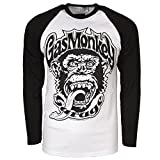 Officially Licensed Merchandise Gas Monkey Garage 04 Baseball Long Sleeve...