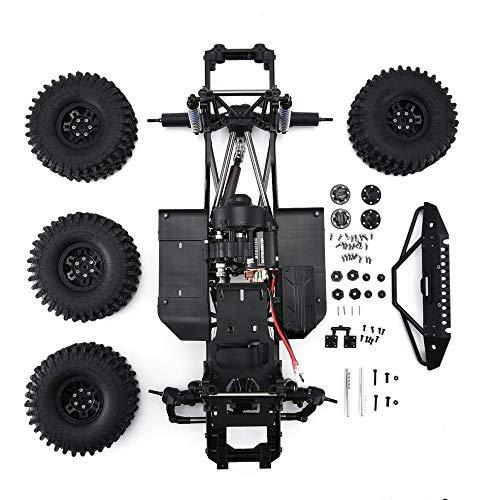 CHOULI AUSTAR AX-8501 Wheelbase Assembled Frame Chassis for 1/10 SCX10 II Black