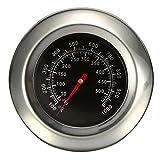 Jzhen Grillthermometer,Thermometer für den Ofen,Grillen und Backen
