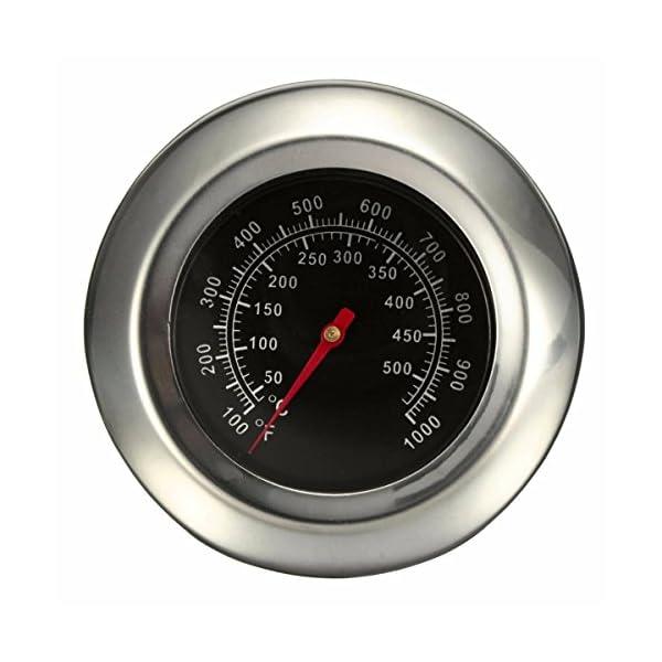 Itian BBQ Grill Termómetro Termómetro de Acero Onoxidable Termómetro de Horno