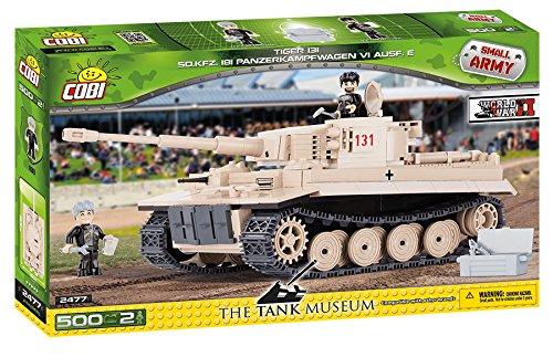 Cobi - 2477 - Tiger 131 - beige - 500 pièces