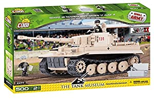COBI - Tiger 131, Tanque, Color Beige (2477)