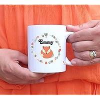 Mug à personnaliser Petit Renard - tasse à café - cadeau personnalisé - prénom - cadeau anniversaire