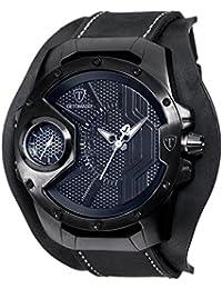 DETOMASO Herren-Armbanduhr Steppen black Analog Quarz DT-YG104-C