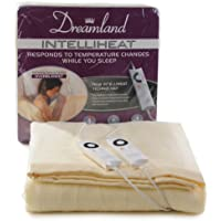 Dreamland Intelliheat Harmony King Size Heated Over Blanket with Dual Control by Dreamland