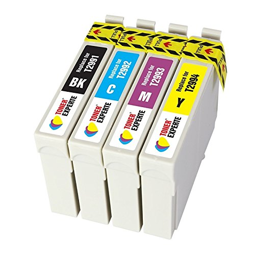TONER EXPERTE® 4 XL (1 SET) Compatible Ink Cartridges Replacement for Epson 29XL 29 T2991-4 Expression Home XP-235 XP-335 XP-435 XP-245 XP-247 XP-342 XP-432 XP-442 XP-445 XP-345 XP-332 | High Capacity