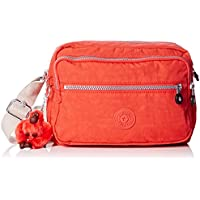 Kipling Womens Deena Cross-Body Bag - Pink (Coral Rose C)