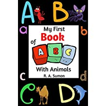 My First Book of ABC With Animals (English Edition)