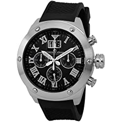 Duke &Söhne Men's Watch XL Analogue Quartz Silicone 313-122 HS