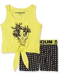 Lina Pink Ef.Gunpoi.Pde.Mz, Conjuntos de Pijama para Niñas