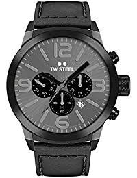 TW Steel Marc Coblen Edition Chrono mit Lederband 42 MM Grey Sunray/Black TWMC18