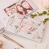 JGA Album für Fotos und Erinnerungen Team Bride Blumen