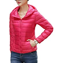 CHERRY CHICK Packable Ultra de las mujeres chaqueta de plumón ligero