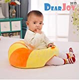 #3: DearJoy Cotton Toddlers' Training Seat Baby Safety Sofa Dining Chair Learn to Sit Stool