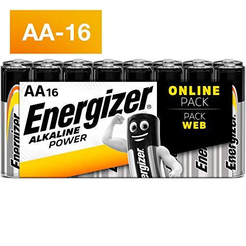 Energizer alcalina Power batterie AA, 16 pezzi