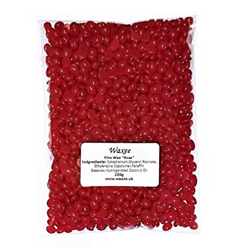 film-hard-stripless-hair-removal-wax-pellets-bikini-brazilian-waxing-hot-no-strips-150g-rose
