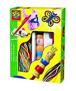 ses 00862 loisir cr atif tricotin jeux et jouets. Black Bedroom Furniture Sets. Home Design Ideas