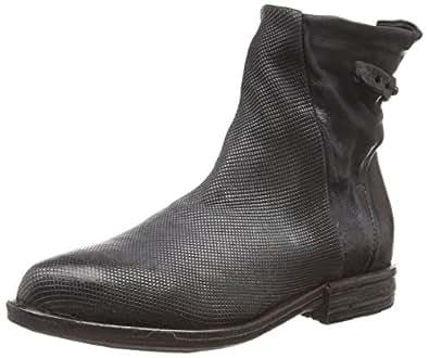 A.S.98 696206-0202-0001, Damen Kurzschaft Stiefel, Grau (Shark+Shark+Nero), 37 EU