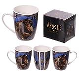 Indianer Tasse Apache - Pferde
