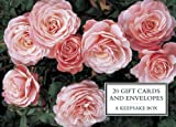 Tin Box of 20 Gift Cards and Envelopes: Roses (Keepsake Tin Giftcds/Envelopes)