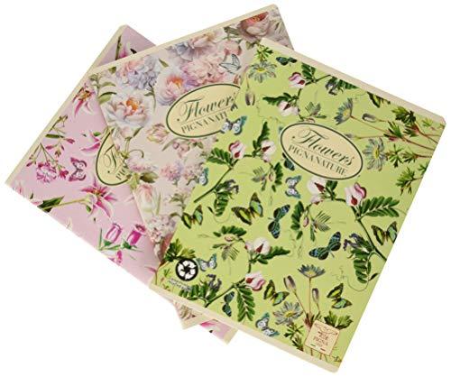 Pigna 02088350Q Quaderno A5 con Punto Metallico, Carta Riciclata, 42 Fogli, Confezione da 10 quaderni