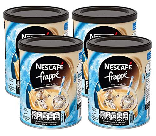 NESCAFÉ Frappé Typ Eiskaffee (Getränkepulver mit Instant Kaffee) 4er Pack (4 x 275g)
