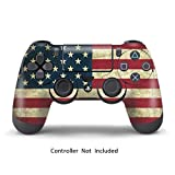 Jeux PS4 Skins Stickers Sony PS4 Console Play Station 4 Vinly Decals Playstation 4 for Dualshock 4 - Battle Torn Stripes