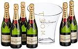 Moet & Chandon Brut Imperial Champagner mit Champagnerkühler (1 x 4.5 l)
