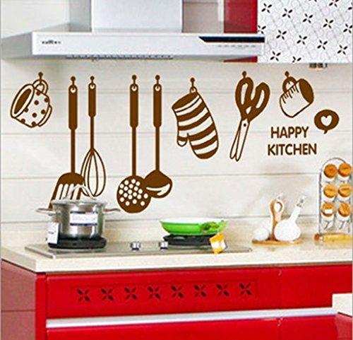 Decals Design 'Stylish Kitchen' Wall Sticker (PVC Vinyl, 60 cm x 45...