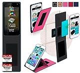 reboon Hülle für Allview P6 Quad Plus Tasche Cover Case Bumper | Pink | Testsieger