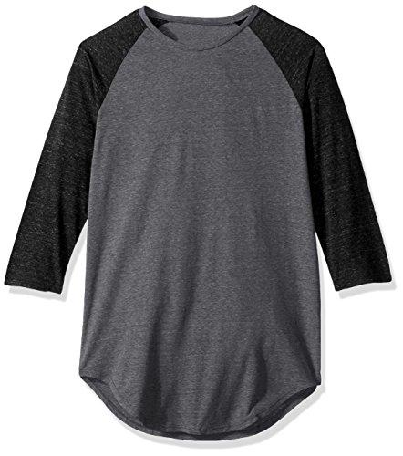 NEFF Herren Oberteile / T-Shirt Miller Raglan Grau