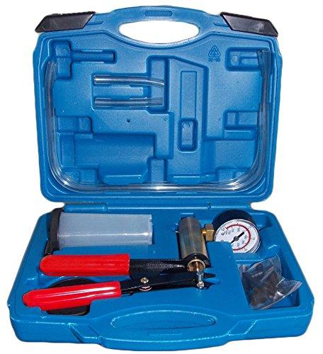 SLPRO® Bremsenentlüfter Bremsenentlüftungsgerät Vakuum Vakuumpumpe Vakuumtester Set Anzeige bis 760 mm Hg
