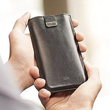 Housse en cuir pour Samsung Galaxy S9 S9+ S8 S7 Active Edge S6 Edge+ J7 A7 2017 AT&T A5 A3 2016 On7 On5 Grand Prime 2 Amp Express 3 J3 Emerge On8, étui Cover Coque Case faites un monogramme de votre nom