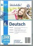 Sch�lerhilfe ! Deutsch 6. Klasse - Abgestimmt auf die Lehrpl�ne aller Bundesl�nder Bild