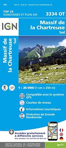 Massif d/La Chartreuse Sud par Institut Géographique National